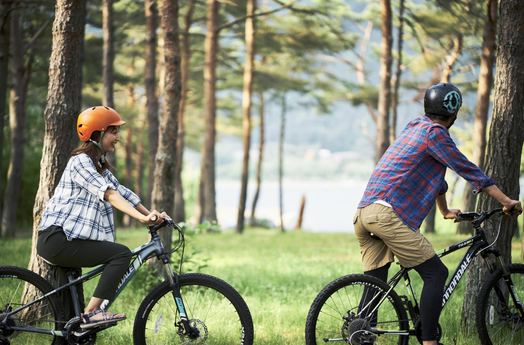高原の風を感じて!富士山を眺めながら爽快サイクリング
