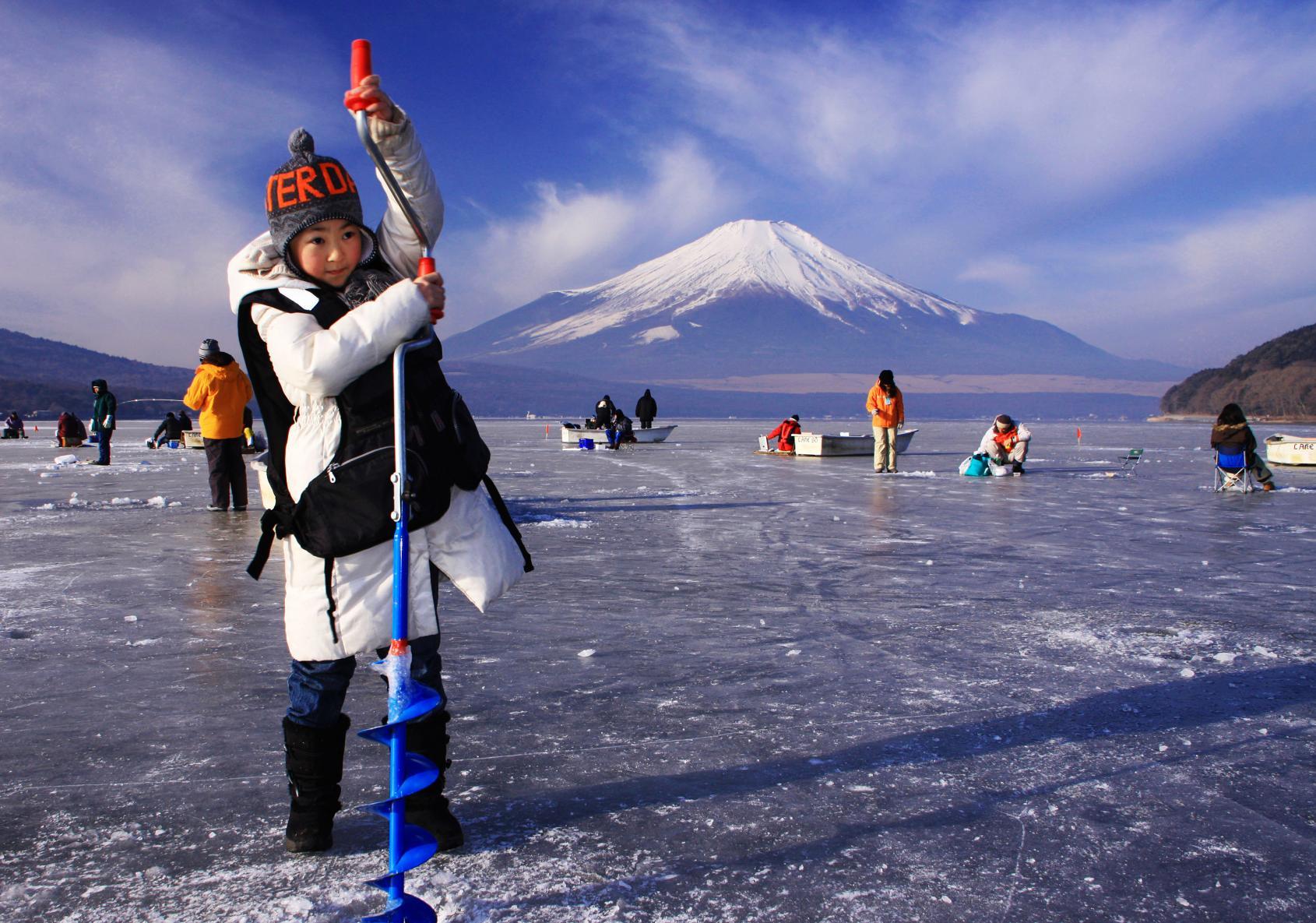 冬だけの体験!わかさぎ釣り
