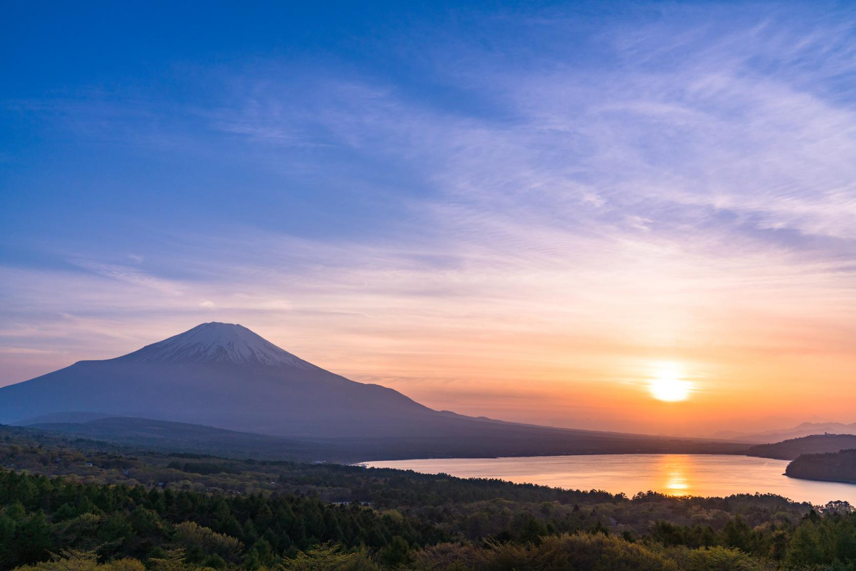 View the beautiful Mt. Fuji