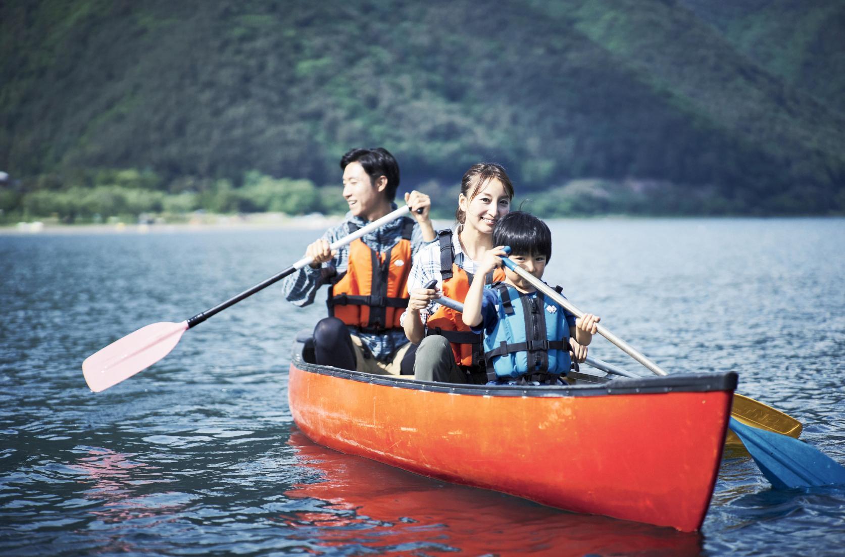 Enjoy water activities