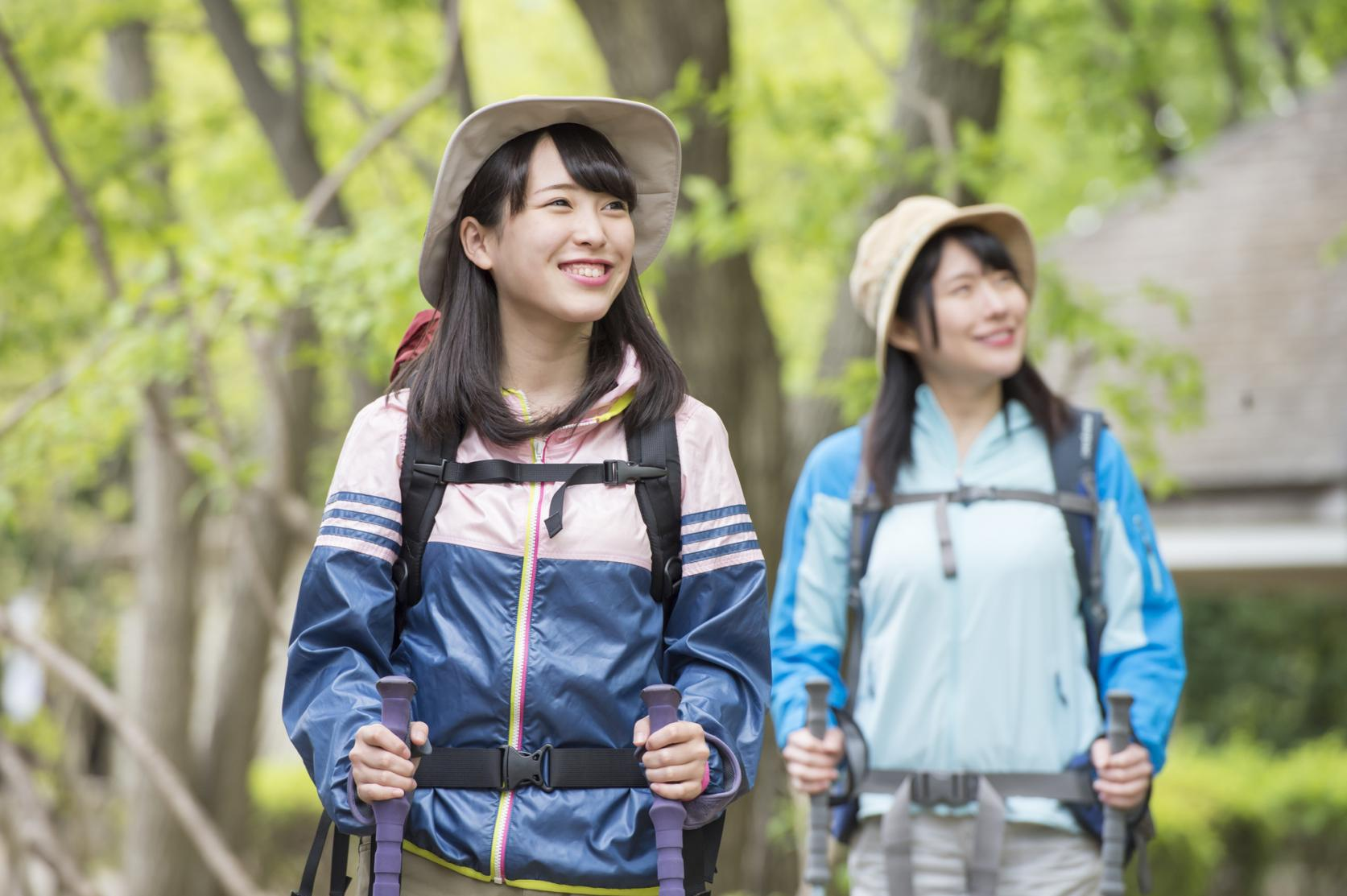 Hiking course that beginners can enjoy