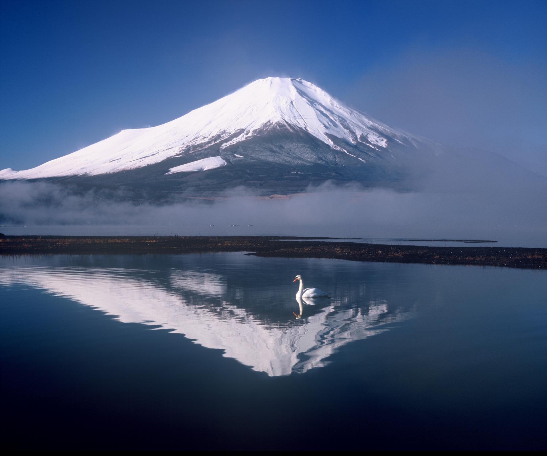 About Lake Yamanakako Area