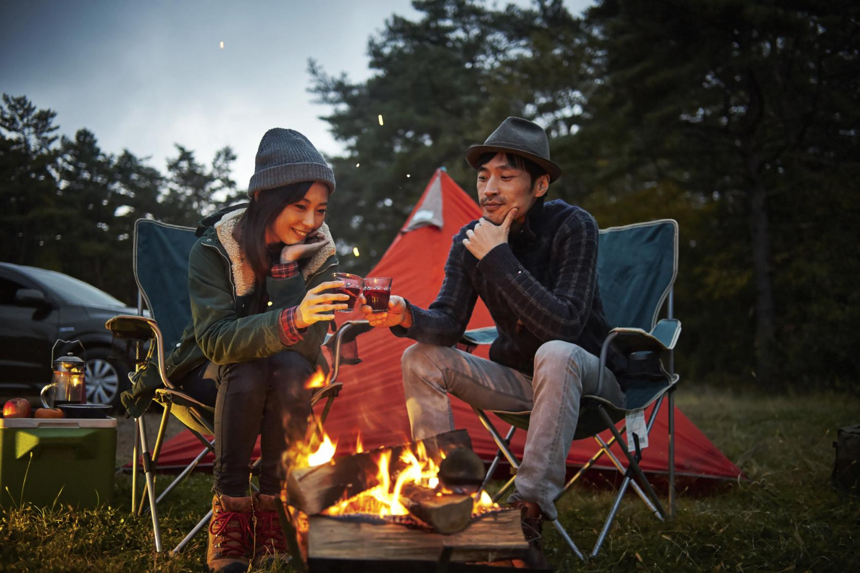 キャンプで山中湖の大自然を満喫!-3
