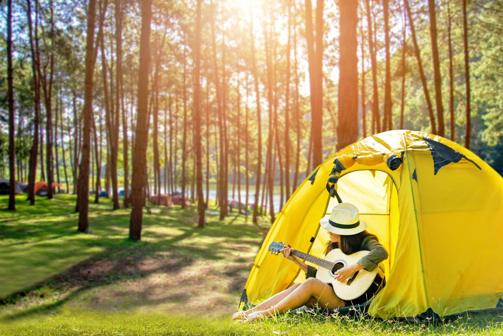 キャンプで山中湖の大自然を満喫!-0