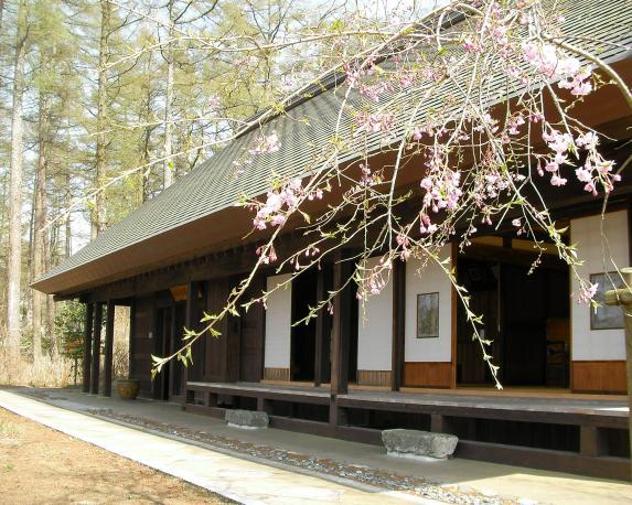 Yamanakako Bungaku no mori Kouen(Park of literature)-0
