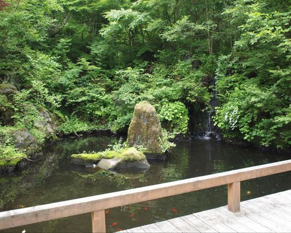 Yamanakako Bungaku no mori Kouen(Park of literature)-4