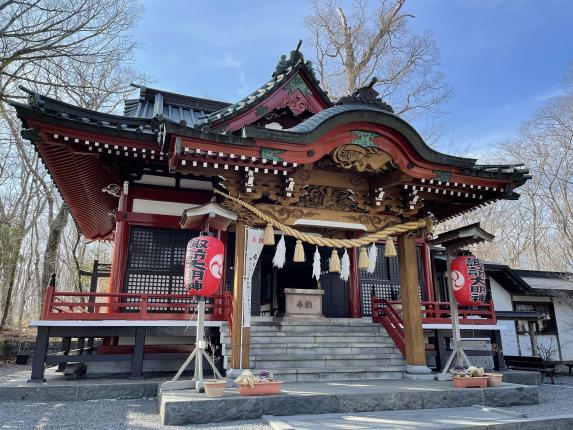 Yamanaka Suwa Jinja (Shrine)-0