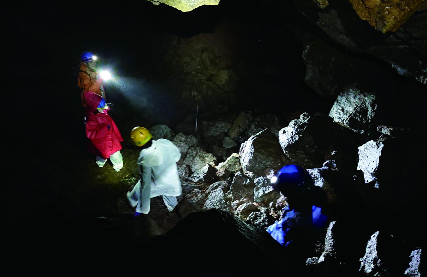 青木ヶ原樹海と【洞窟】探検-1
