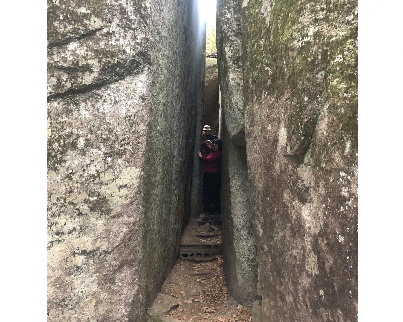 神秘なるパワースポット、石割山ハイキング-2