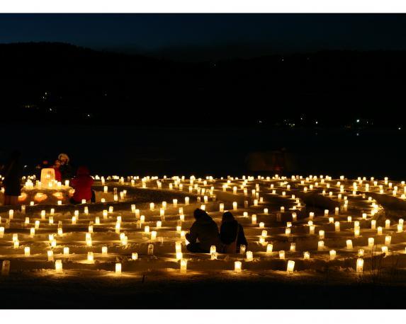 山中湖アイスキャンドルフェスティバル(Ice Candles Festival)-2