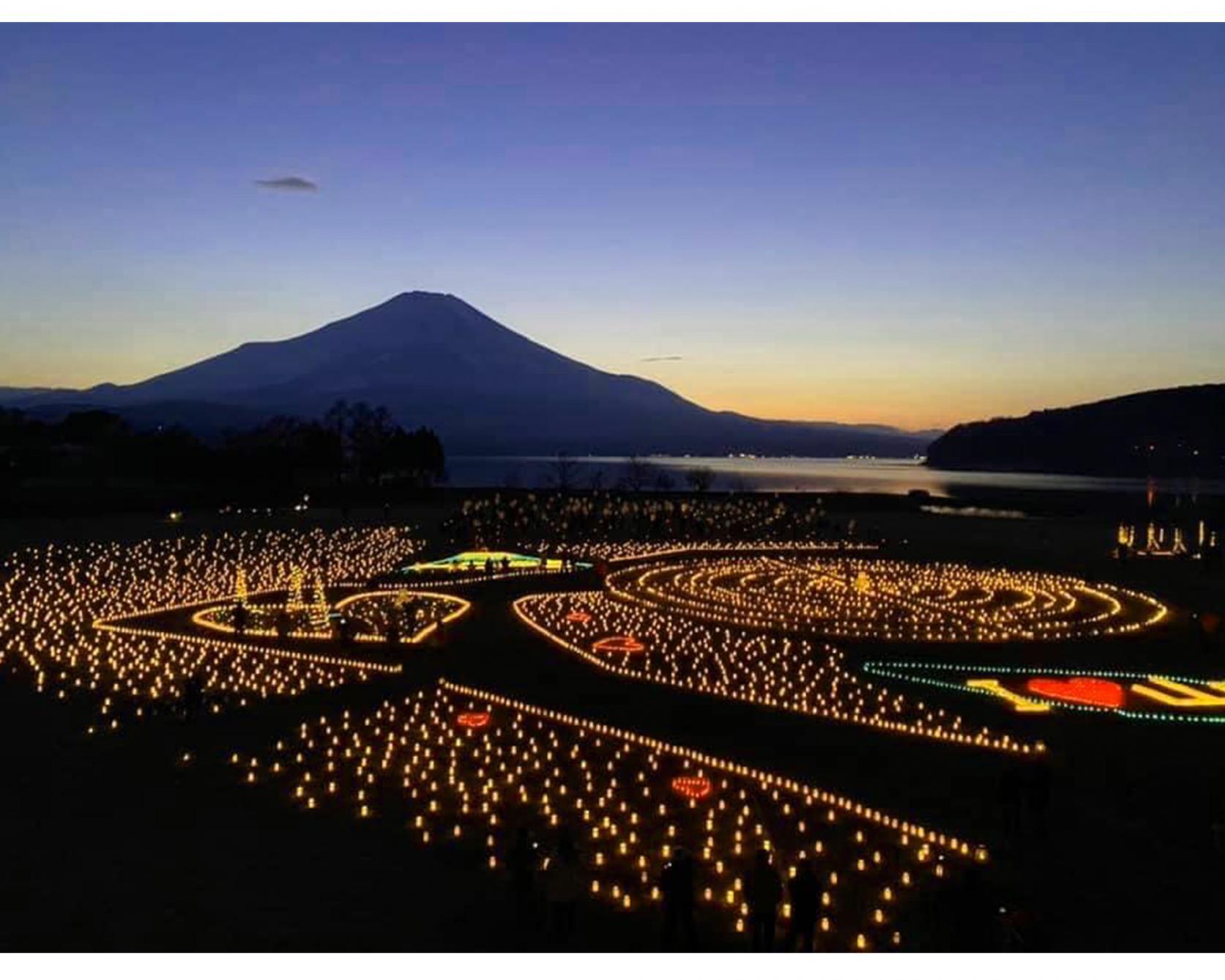 山中湖アイスキャンドルフェスティバル(Ice Candles Festival)-4