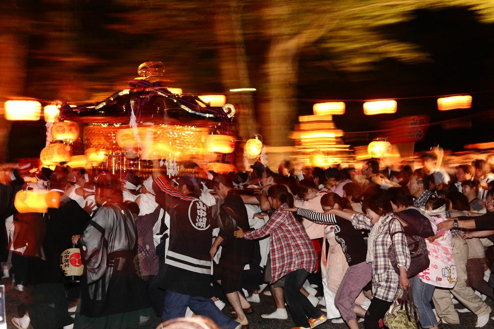 山中湖明神安産祭り-0