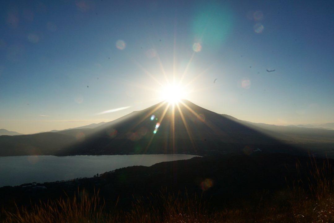 山頂で見ちゃお~ダイヤモンド富士-1